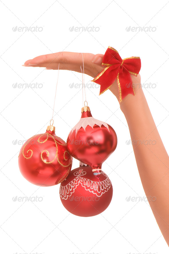 Christmas-tree balls - Stock Photo - Images