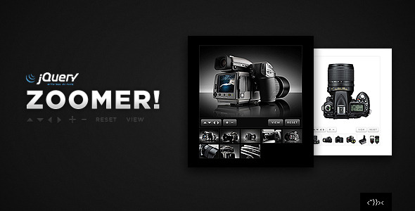 Zoomer jQuery Products Showcase - with Lightbox - CodeCanyon Item for Sale