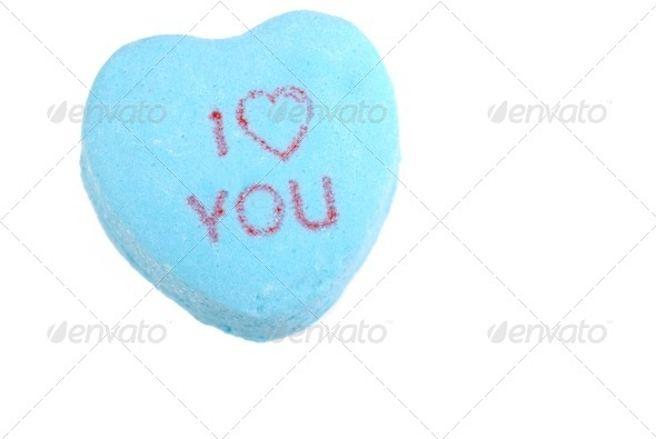 Valentine I Love You Candy - Stock Photo - Images