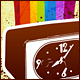 Retro clock - GraphicRiver Item for Sale