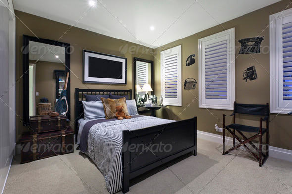 PhotoDune Contemporary Bedroom 862416