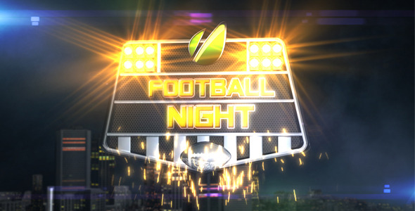 [VideoHive 864604] Football Night Opener | After Effects Project