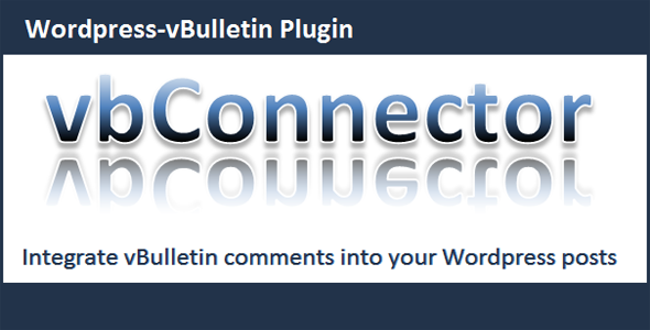 vBulletin Connector - CodeCanyon Item for Sale