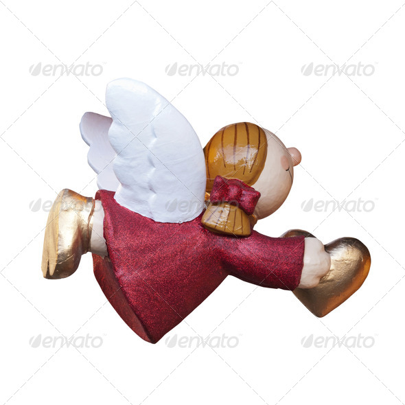 Angel with Heart - Stock Photo - Images