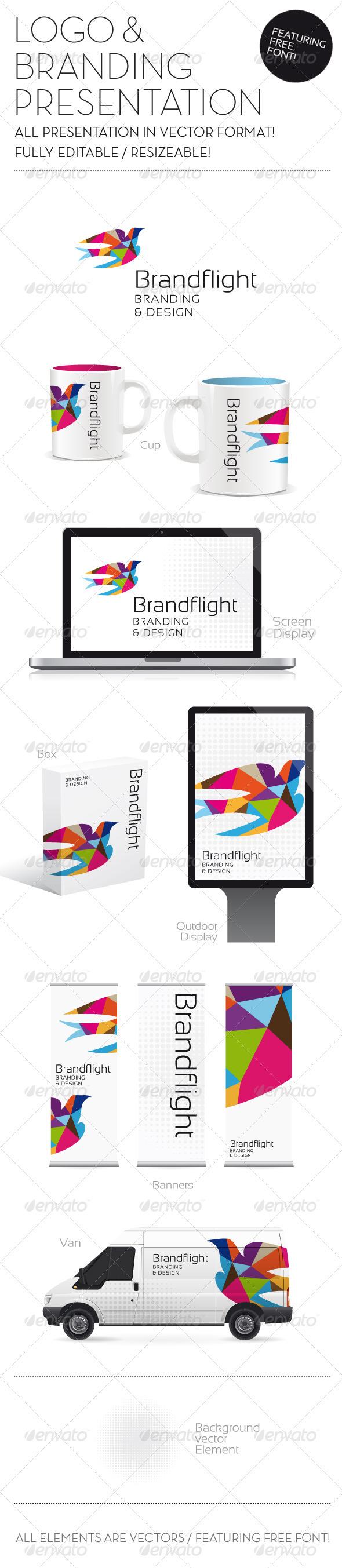 Graphic River Logo & Branding Presentation Logo Templates -  Abstract  Vector 852940