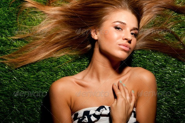 fashionable woman - Stock Photo - Images