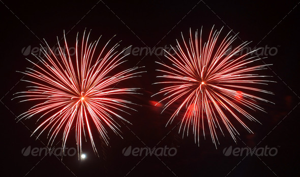 Royalty Free Stock Photography : colorful fireworks Photodune 872492