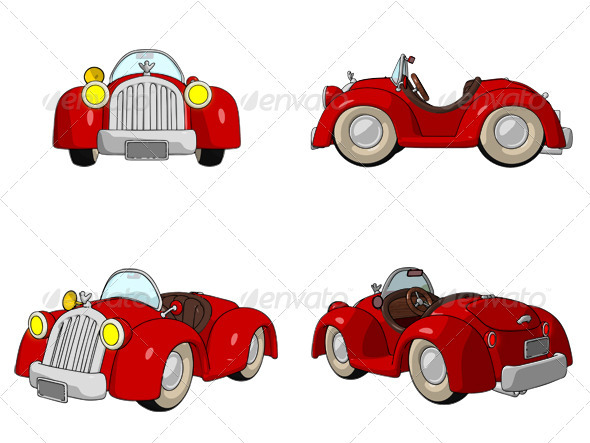 Cartoon Buggy - Miscellaneous Graphics