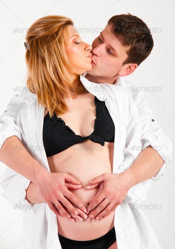 Беременные женщины порно фото. Голые девушки на сносях.