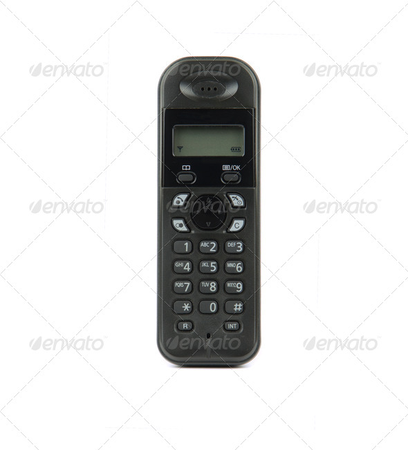 Cordless phone - Stock Photo - Images