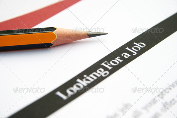 Looking for a job - Stock Photo - Images