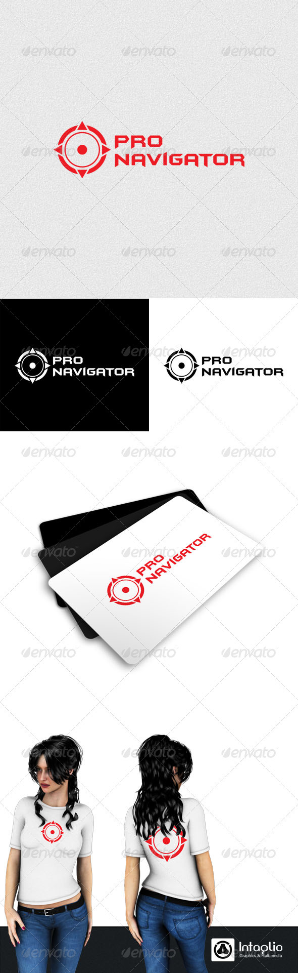 Navigation Logo - Vector Abstract