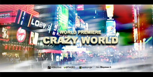 After Effects Project - VideoHive Crazy World 884308