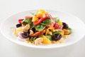 Tasty Fresh Salad with Chorizo and Nuts - PhotoDune Item for Sale