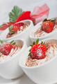 Dessert with strawberry - PhotoDune Item for Sale