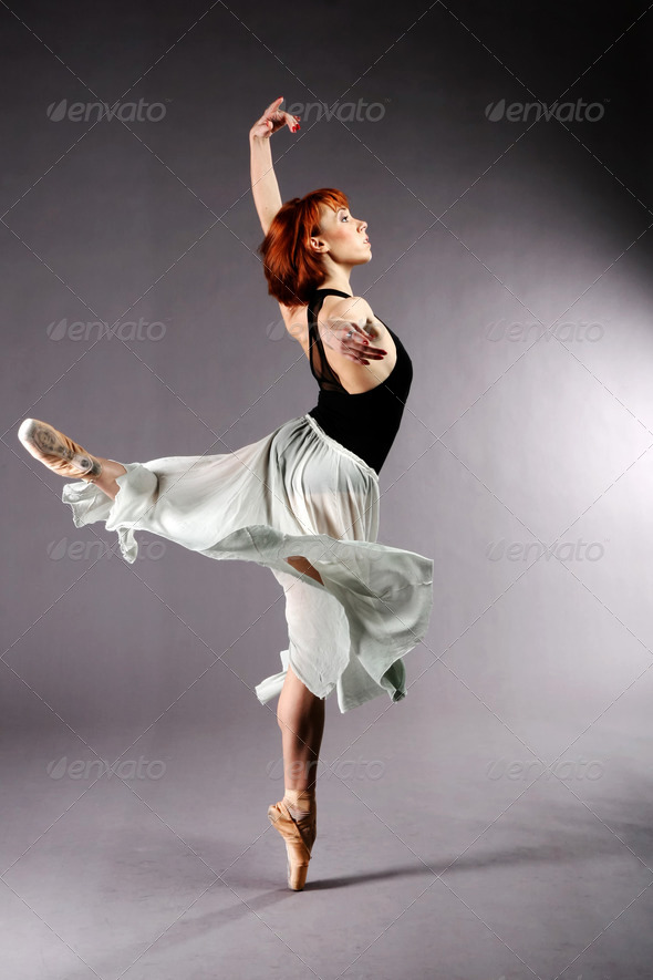 Ballet Dancer - Stock Photo - Images