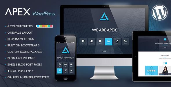Apex - Responsive WordPress Theme by meta4creations ...