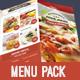 Food Menu Pack 5-Graphicriver中文最全的素材分享平台