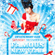 Famous New Year flyer - GraphicRiver Item for Sale