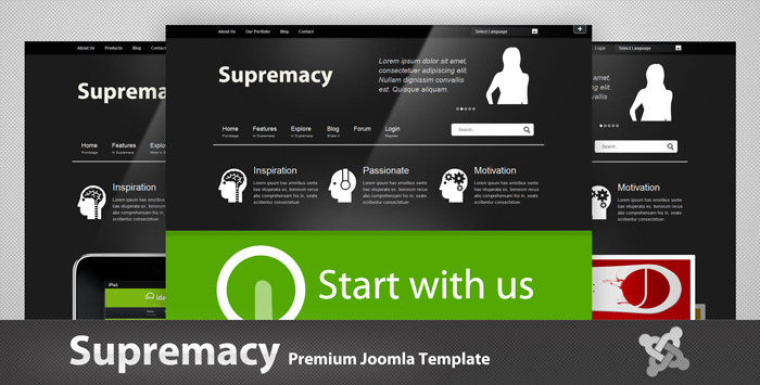 Supremacy - Premium Joomla Template