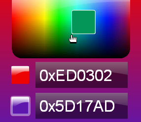 Gradient color picker and background & movieclip color tweener - ActiveDen Item for Sale