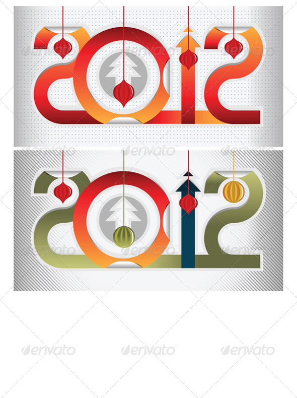 Graphic River New Year Gift Sign  Vectors -  Conceptual  Seasons/Holidays  New Year 891572