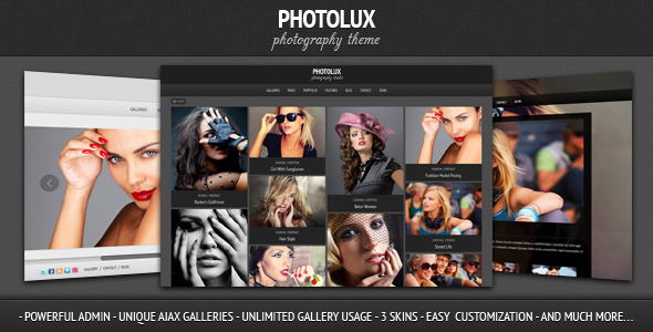 Photolux wordpress theme download