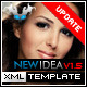 New Idea XML Template (Black / White) - ActiveDen Item for Sale