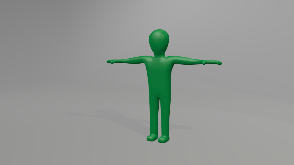 Blender rigged figure - 3DOcean Item for Sale