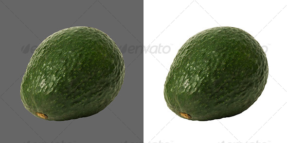 Avocado - Food &amp; Drink Isolated Objects