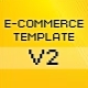 E-Commerce Template - ActiveDen Item for Sale