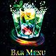 Bar Menu-Graphicriver中文最全的素材分享平台