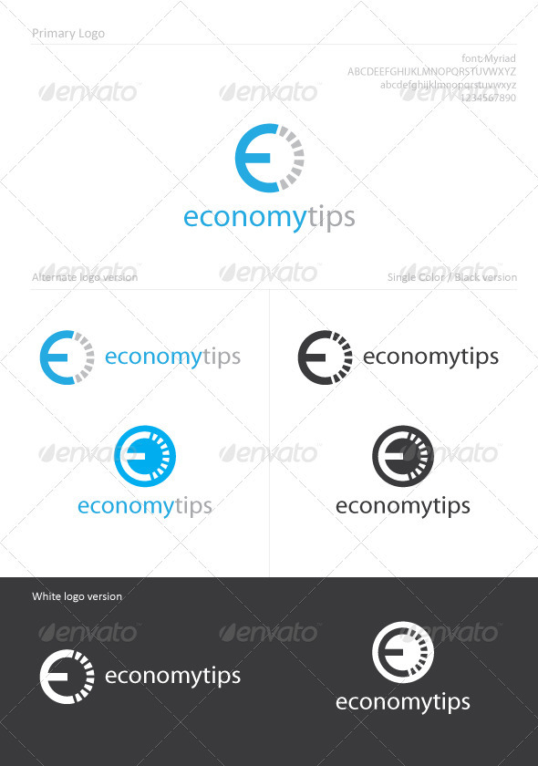 Economy Tips - Letters Logo Templates
