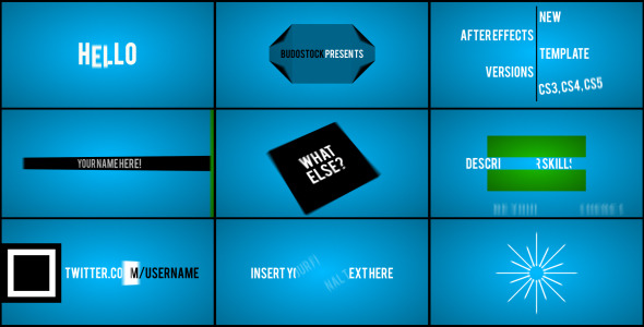 After Effects Project - VideoHive Showcase 904712
