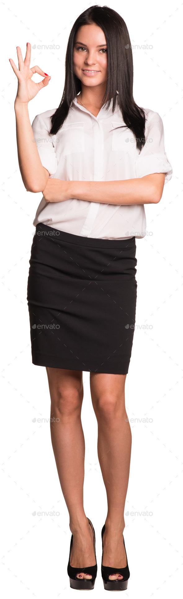 Фотки девушек в юбки и блузке 5 фотография