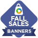Fall Sale Marketing Banner -Graphicriver中文最全的素材分享平台