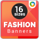 Fashion & Retail Web Banner-Graphicriver中文最全的素材分享平台