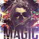 Magic Halloween Flyer Templ-Graphicriver中文最全的素材分享平台