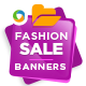 Fashion Sale Banners-Graphicriver中文最全的素材分享平台
