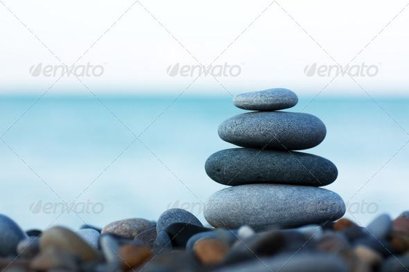 PhotoDune Stack of stones 916479