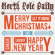 Happy Holiday/ Merry Christmas -'North Pole Daily' - GraphicRiver Item for Sale