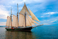 Old Style Sail Boat near Harbor - PhotoDune Item for Sale