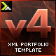 XML Portfolio Template v4 - ActiveDen Item for Sale