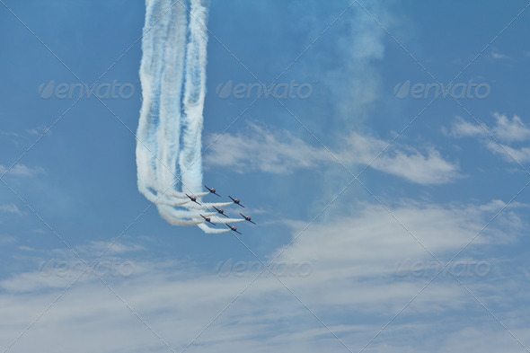 Air show - Stock Photo - Images