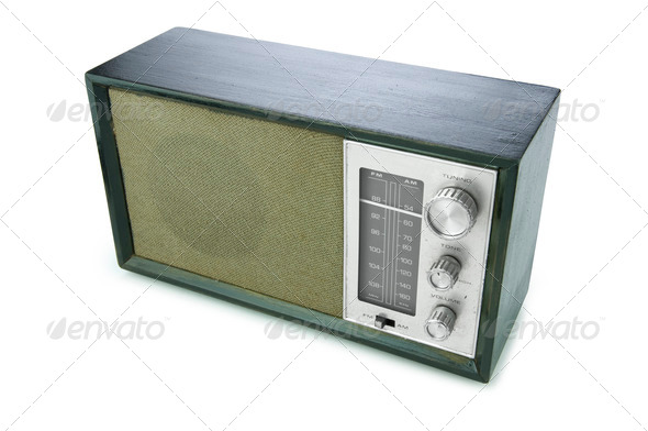 Radio  - Stock Photo - Images