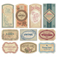 vintage labels set (vector) - GraphicRiver Item for Sale