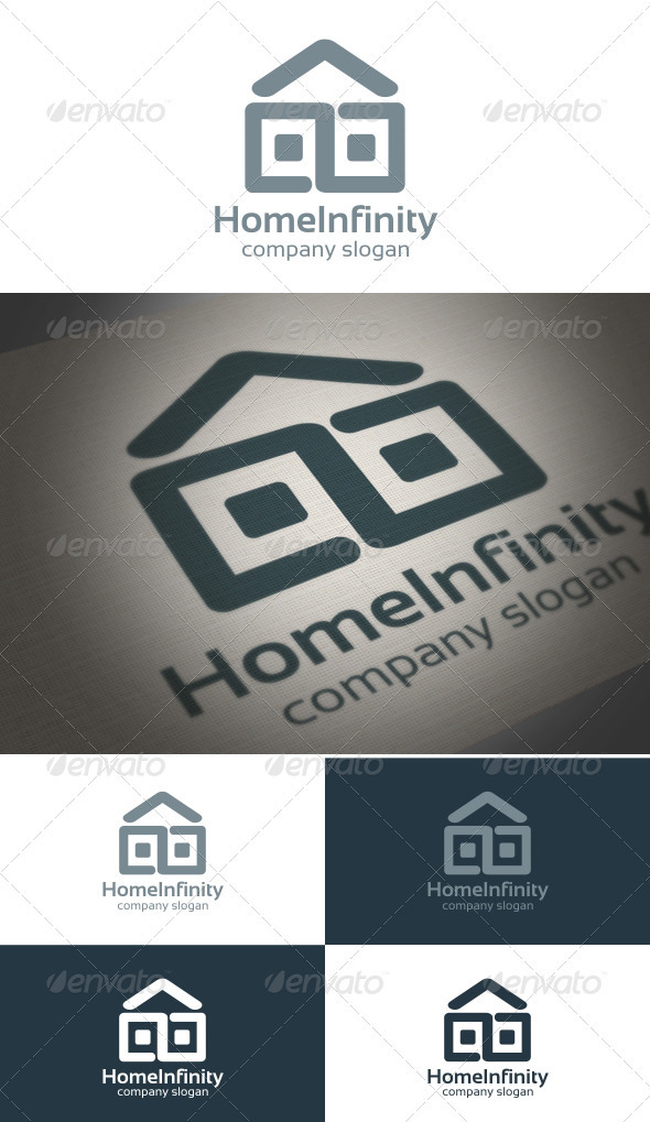 Home Infinity - Symbols Logo Templates