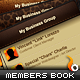 Business Member Book with Themes - ActiveDen Item for Sale