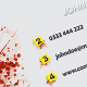 Crime Scene Business Card - GraphicRiver Item for Sale