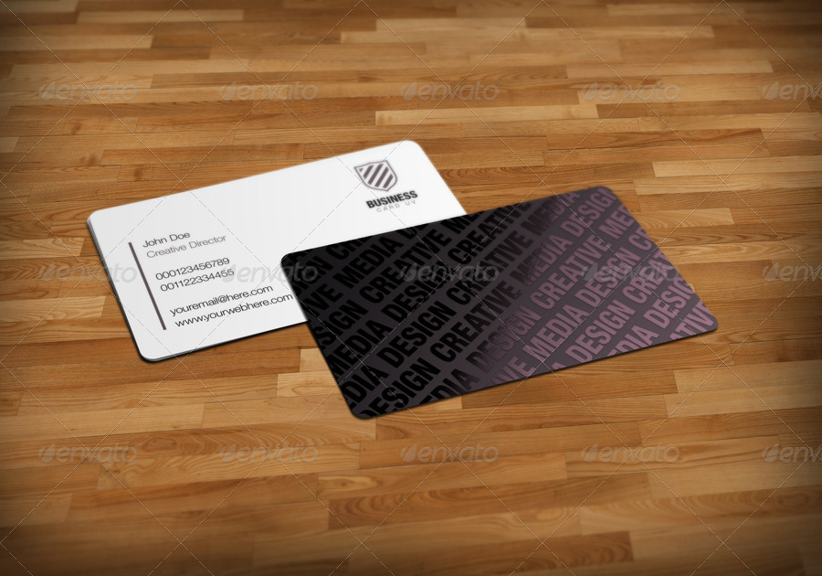 Business Cards UV Mockup v2